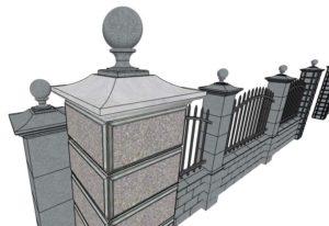 Каменная ограда